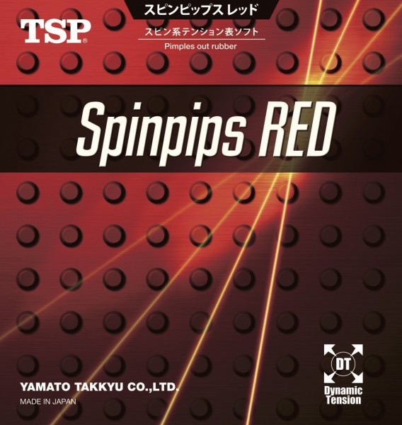 TSP Spinpips Red